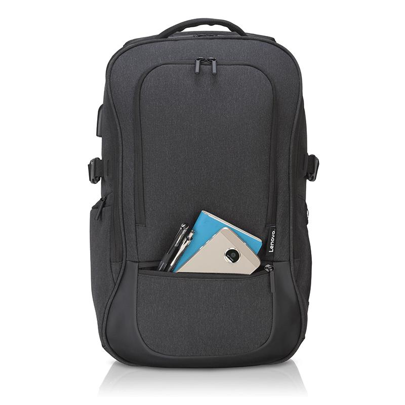 """Lenovo Passage Backpack 17""""; Gray; 100% Polyester; 1.09 Kg - imaginea 8"""