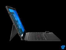 "Laptop Lenovo ThinkPad X12 Detachable, 12.3"" FHD (1920x1280) IPS 400nits AR (anti-reflection) / AS (anti-smudge), Intel Core i5-1130G7 (4C / 8T, 1.8 / 4.0GHz, 8MB), Video Integrated Intel Iris Xe Graphics, RAM 16GB Soldered LPDDR4x-4266, SSD 512GB SSD M.2 2242 PCIe 3.0x4 NVMe, Optical: no ODD, No - imaginea 4"