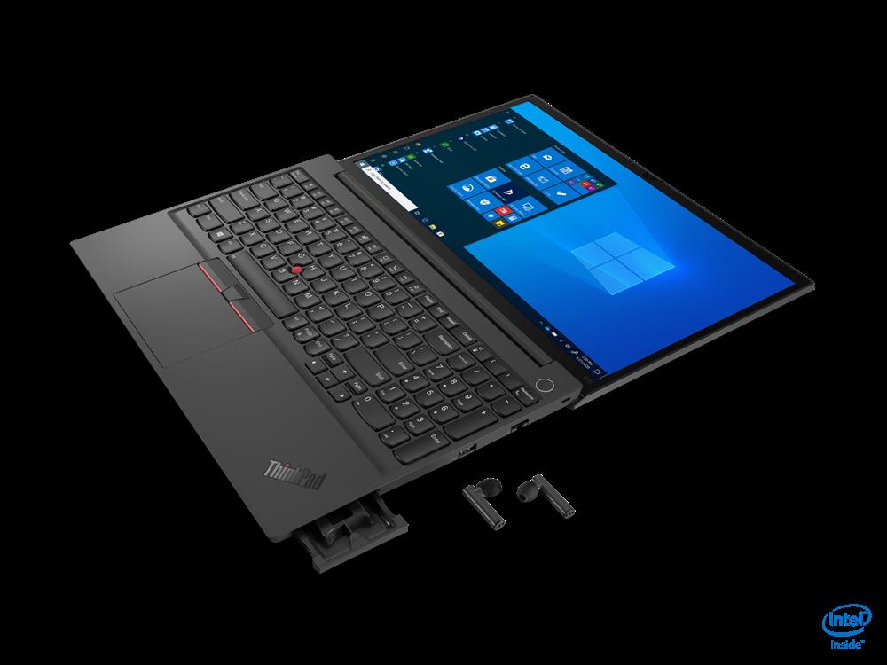 "Laptop Lenovo ThinkPad E15 Gen 2 (Intel), 15.6"" FHD (1920x1080) IPS 250nits Anti-glare, Intel Core i3-1115G4 (2C / 4T, 3.0 / 4.1GHz, 6MB), Video Integrated Intel UHD Graphics, RAM 1x 8GB SO-DIMM DDR4-3200, SSD 256GB SSD M.2 2242 PCIe 3.0x4 NVMe, Optical: no ODD, No card reader, Speakers: Stereo - imaginea 9"