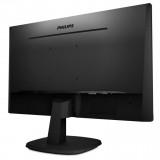 "Monitor 27"" PHILIPS 273V7QDSB, FHD 1920*1080, IPS, 16:9, 60hz, WLED, 5ms, 250 cd/m2, 178/178, 10M:1/ 1000:1, Flicker-free, Low blue light ,HDMI, VGA, DVI, VESA, Kensington lock, Black - imaginea 4"