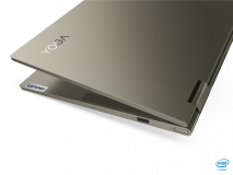 """Laptop Lenovo Yoga 7 14ITL5, 14"""" FHD (1920x1080) IPS 300nits Glossy, 72% NTSC, AGC Dragontrail glass, 10-point Multi-touch, Intel Core i5-1135G7 (4C / 8T, 2.4 / 4.2GHz, 8MB), video Integrated Intel Iris Xe Graphics, RAM 16GB Soldered DDR4-3200, SSD 1TB SSD M.2 2280 PCIe 3.0x4 NVMe, no ODD, No Card - imaginea 7"""