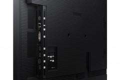 "Ecran profesional LFD Monitor Signage Samsung QM85N, 85"" (216cm), UHD, Operare 24/7, Luminozitate 500nit, Timp Raspuns 6ms, Contrast 5000:1, Haze 44%, Tizen 4.0, MagicINFO S6, [...]; Conectivitate: INPUT: 1xD-SUB, 1xDVI, 1xDP1.1, 2xDP1.2, 3xHDMI 1.4, HDCP1.4, 1xUSB pt F/W Upgrade, 1xLAN, 1xRS232C - imaginea 4"