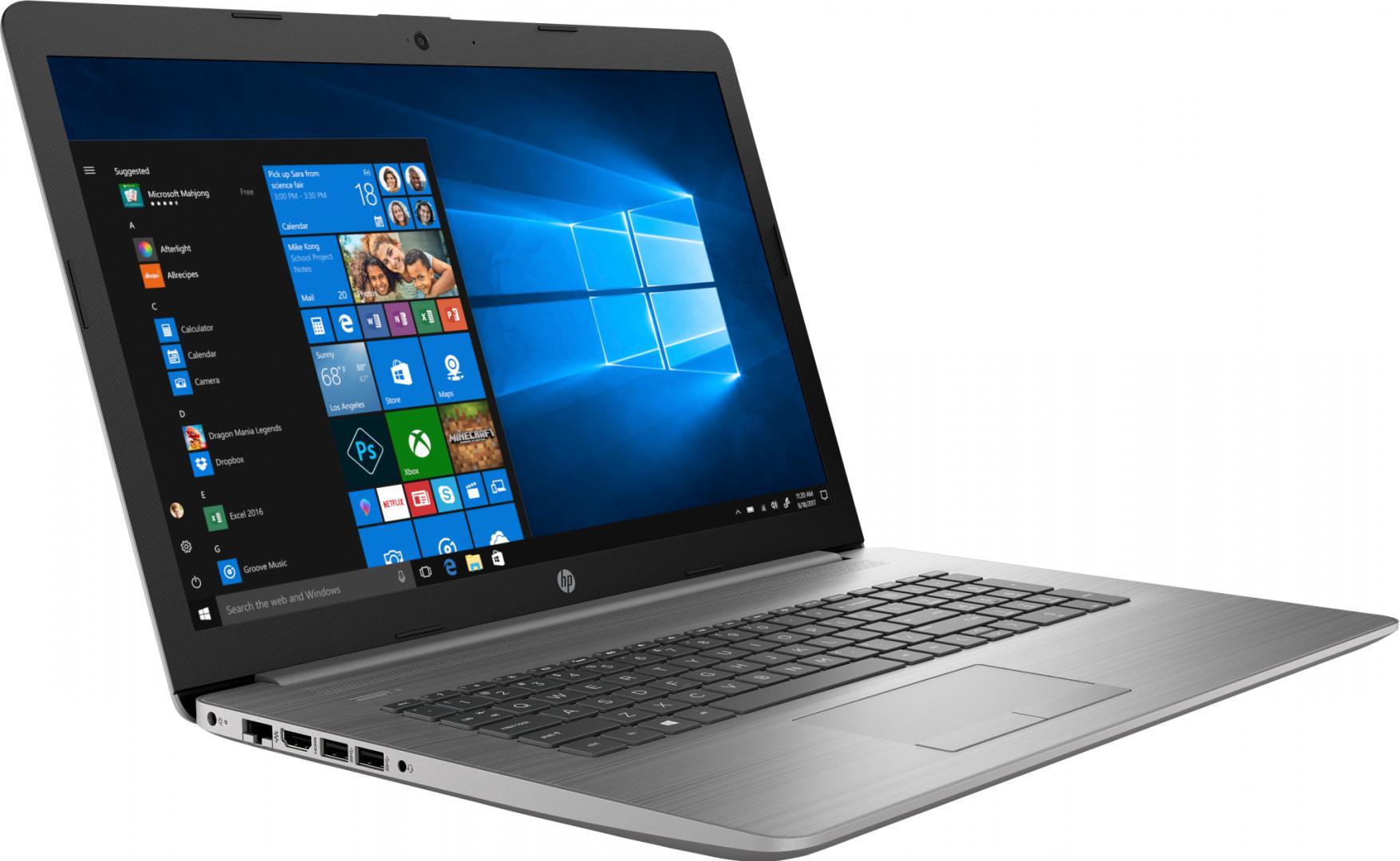 """NOTEBOOK HP 470G7 17.3"""" FHD i5-10210U 8GB 128GB+1TB tast.ilum. 2GB-AMD530 W10H - imaginea 2"""