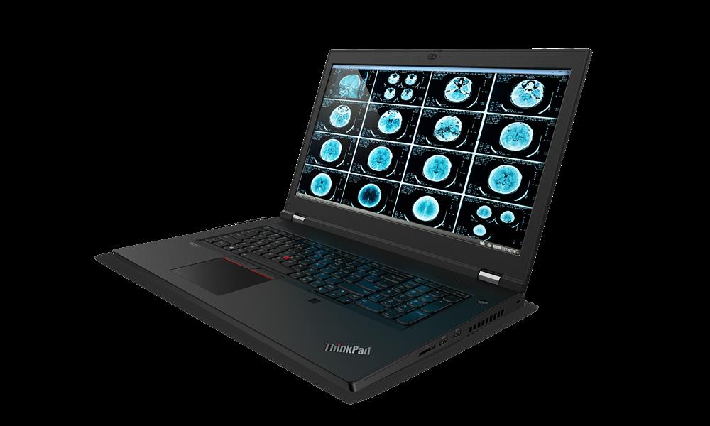 "Laptop Lenovo ThinkPad P17 Gen 1, 17.3"" UHD (3840x2160) IPS 500nits Anti-glare, 100% Adobe, Dolby Vision, HDR, Intel Core i9-10885H (8C / 16T, 2.4 / 5.3GHz, 16MB), Video NVIDIA Quadro RTX 4000 Max-Q 8GB GDDR6, RAM 2x 16GB SO-DIMM DDR4-2933 Non-ECC, SSD 1TB SSD M.2 2280 PCIe NVMe Opal2, Optical: no - imaginea 3"