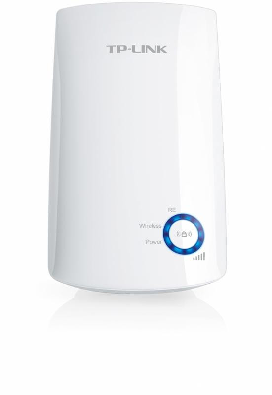 Wireless Range Extender TP-link, N300, Wall Plugged, 2.4GHz, 2 antene interne, FARA port LAN/WAN, Range extender button / Range extender mode, Atheros, 2T2R - imaginea 2