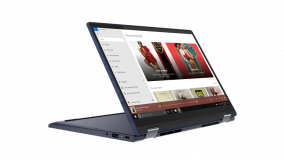 """Laptop Lenovo Yoga 6 13ARE05, 13.3"""" FHD (1920x1080) IPS 300nits Glossy, 72% NTSC, 10-point Multi-touch, AMD Ryzen 5 4500U (6C / 6T, 2.3 / 4.0GHz, 3MB L2 / 8MB L3), video Integrated AMD Radeon Graphics, RAM 16GB Soldered DDR4-3200, SSD 1TB SSD M.2 2280 PCIe 3.0x4 NVMe, no ODD, No Card reader, Stereo - imaginea 5"""
