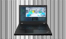 "Laptop Lenovo ThinkPad P17 Gen 1, 17.3"" UHD (3840x2160) IPS 500nits Anti-glare, 100% Adobe, Dolby Vision, HDR, Intel Core i9-10885H (8C / 16T, 2.4 / 5.3GHz, 16MB), Video NVIDIA Quadro RTX 4000 Max-Q 8GB GDDR6, RAM 2x 16GB SO-DIMM DDR4-2933 Non-ECC, SSD 1TB SSD M.2 2280 PCIe NVMe Opal2, Optical: no - imaginea 6"
