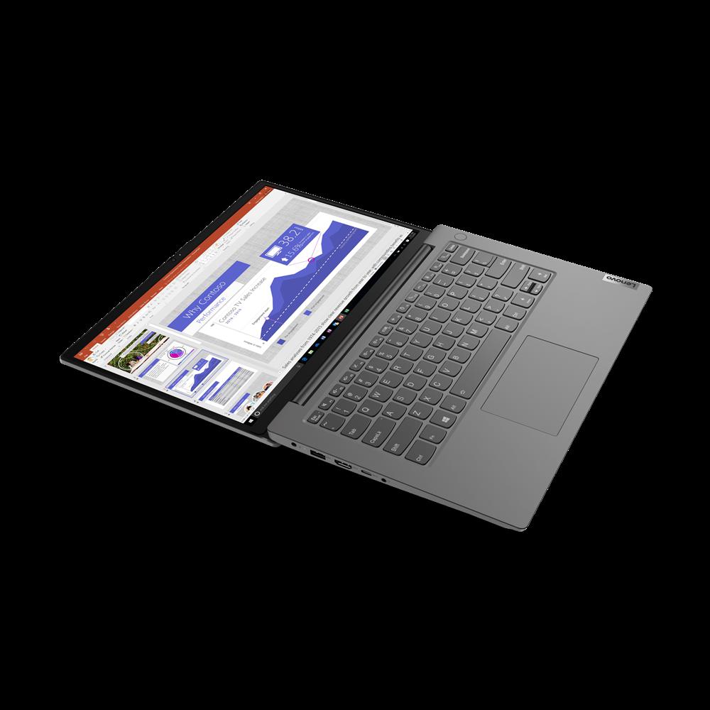 "Laptop Lenovo V14 G2 ALC, 14"" FHD (1920x1080) TN 250nits Anti-glare, 45%NTSC, AMD Ryzen 7 5700U (8C / 16T, 1.8 / 4.3GHz, 4MB L2 / 8MB L3), VideoIntegrated AMD Radeon Graphics, RAM 8GB Soldered DDR4-3200 + 8GB SO-DIMMDDR4-3200, SSD 512GB SSD M.2 2242 PCIe 3.0x4 NVMe, Optical: no ODD,None, Speakers - imaginea 7"