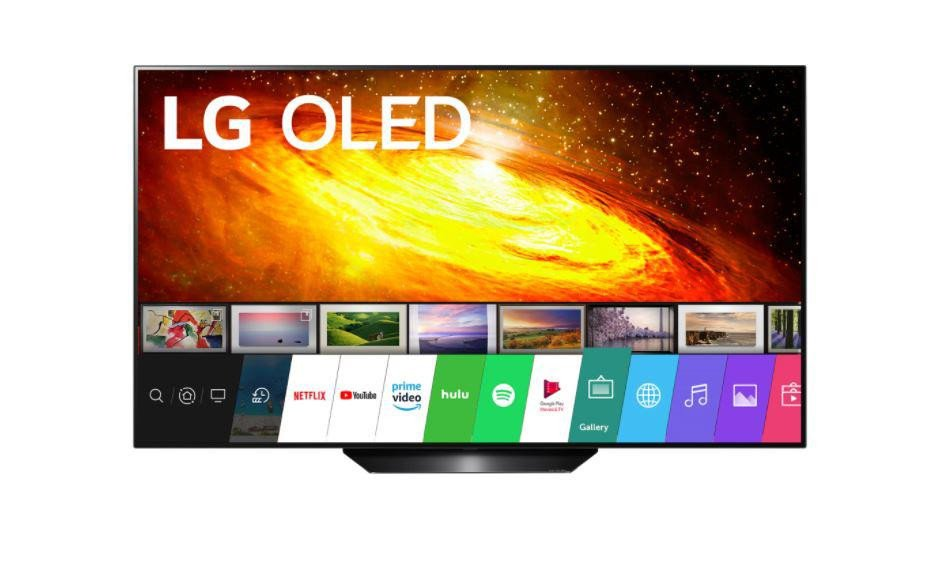 """Televizor, LG, OLED65BX3LB, 65"""", 164 cm, Smart TV, OLED, HDR, 4K, webOS, YouTube, Netflix, HBOGo, Comenzi vocale, Asistent vocal inteligent, Screen Mirroring, iOS, Android, Alexa, Google assistant, Siri, Quad core, 3840 x 2160, HLG, Dolby Vision, HDR 10, Pixel Dimming, 4K Upscaler, Dolby Vision IQ - imaginea 1"""