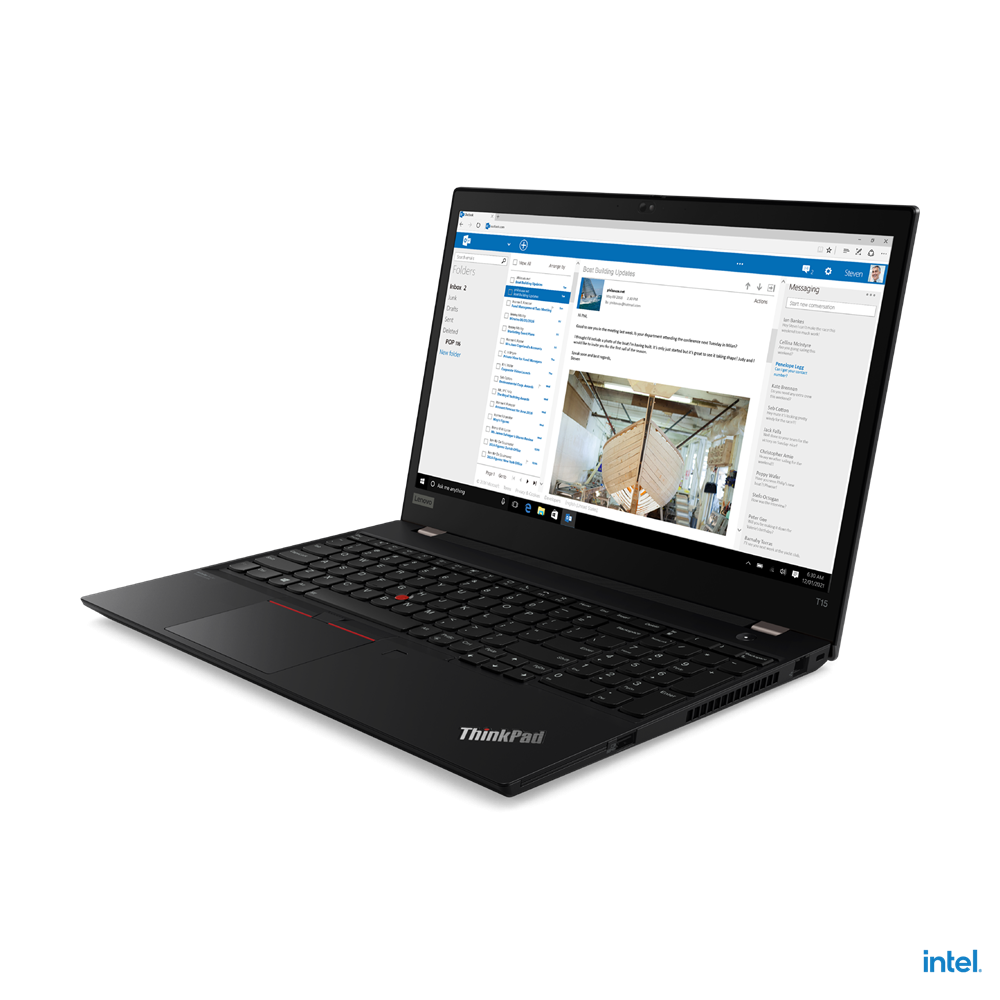 """Laptop Lenovo ThinkPad T15 Gen 2, 15.6"""" FHD (1920x1080) IPS 300nits Anti-glare, Intel Core i7-1165G7 (4C / 8T, 2.8 / 4.7GHz, 12MB), NVIDIA GeForce MX450 2GB GDDR6, RAM 16GB Soldered DDR4-3200, One memory soldered to systemboard, one DDR4 SO-DIMM slot, dual-channel capable, Up to 48GB (16GB soldered - imaginea 3"""