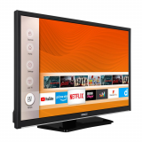 "LED TV HORIZON SMART 24HL6130H/B, 24"" Edge LED, HD Ready (720p), Digital TV-Tuner DVB-S2/T2/C, CME 200Hz, HOS 3.0 SmartTV-UI (WiFi built-in) +Netflix +AmazonAlexa +Youtube, 1xLAN (RJ45), Wireless Display, DLNA 1.5, Contrast 3000:1, 220 cd/m2, 1xCI+, 2xHDMI (v1.4), 1xUSB, 1xD-Sub (15-PIN), USB Player - imaginea 3"