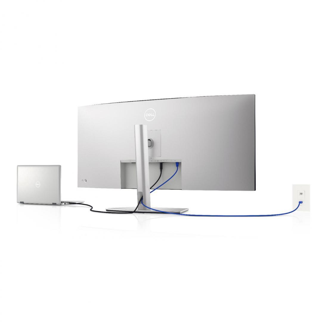 Monitor Dell 40'' U4021QW, 100.85 cm, Curved, LED, IPS, WUHD, 5K2K, 5120 x 2160 at 60Hz, 21:9 - imaginea 11