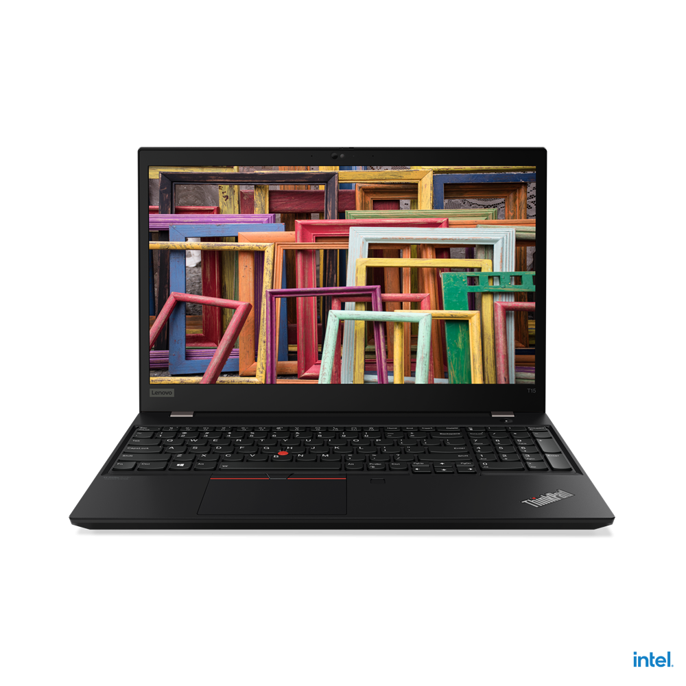 """Laptop Lenovo ThinkPad T15 Gen 2, 15.6"""" FHD (1920x1080) IPS 300nits Anti-glare, Intel Core i7-1165G7 (4C / 8T, 2.8 / 4.7GHz, 12MB), NVIDIA GeForce MX450 2GB GDDR6, RAM 16GB Soldered DDR4-3200, One memory soldered to systemboard, one DDR4 SO-DIMM slot, dual-channel capable, Up to 48GB (16GB soldered - imaginea 10"""