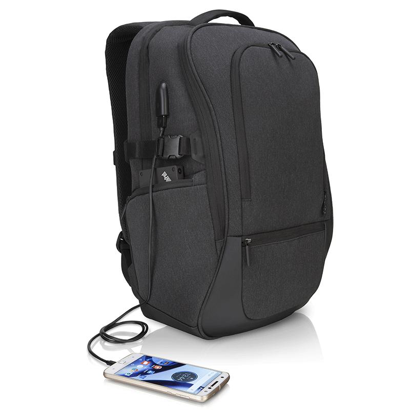 """Lenovo Passage Backpack 17""""; Gray; 100% Polyester; 1.09 Kg - imaginea 3"""