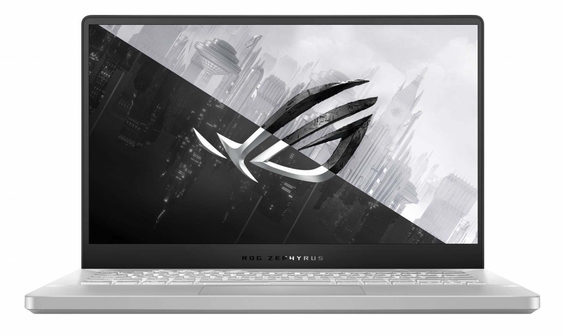 Laptop Gaming ASUS ROG Zephyrus G14 GA401QE-HZ052T, 14-inch, FHD (1920 x 1080) 16:9, Anti-glare display, IPS-level, AMD Ryzen™ 7 5800HS Processor 3.0GHz(16MCache,upto4.3GHz), NVIDIA®GeForceRTX™3050Ti Laptop GPU, 8GB DDR4 on board + 8GB DDR4-3200 SO-DIMM, 512GB M.2 NVMe™ PCIe® 3.0 SSD - imaginea 2