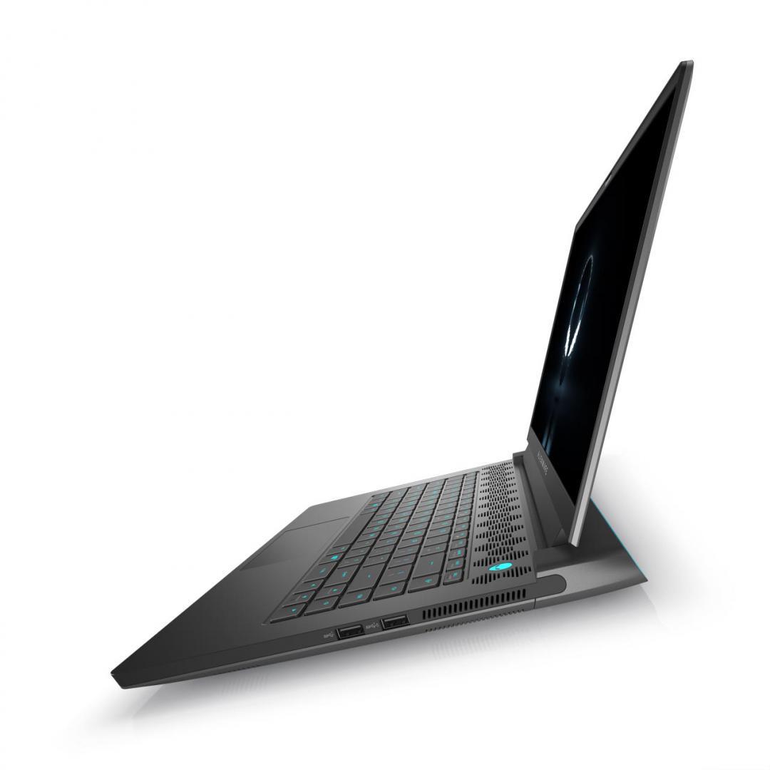 "Laptop Gaming Alienware M15 R5, 15.6"" QHD (2560 x 1440), AMD Ryzen R7 5800H, 16GB, 512GB SSD, GeForce RTX 3070, W10 Pro - imaginea 4"