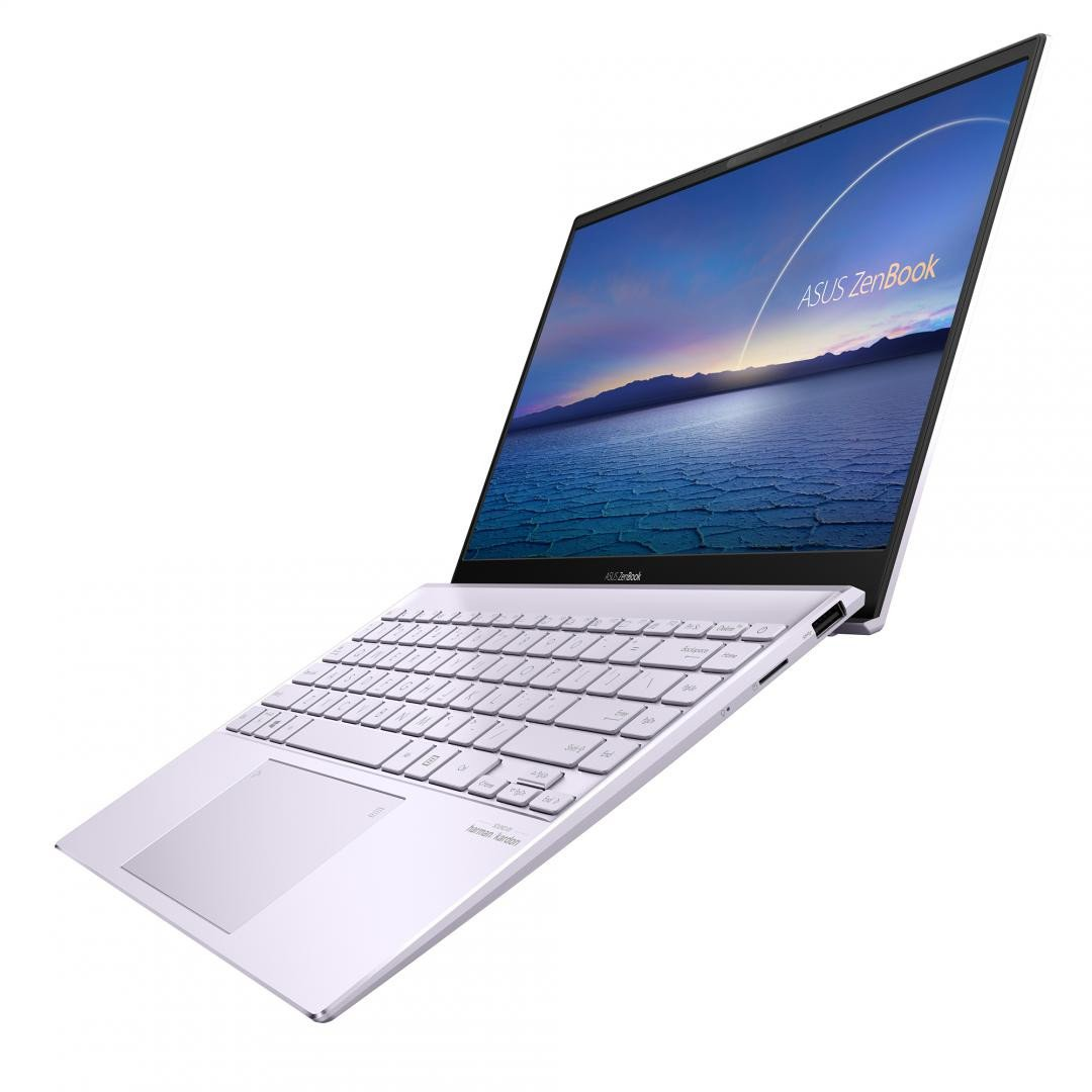 UltraBook ASUS ZenBook UX325EA-KG348T, 13.3-inch, FHD (1920 x 1080) 16:9, OLED, Glossy display, Intel® Core™ i7-1165G7 Processor 2.8 GHz (12M Cache, up to 4.7 GHz, 4 cores), Intel Iris Xᵉ Graphics (available for 11th Gen Intel® Core™ i5/i7 with dual channel memory), 16GB LPDDR4X on board, 512GB M.2 - imaginea 1
