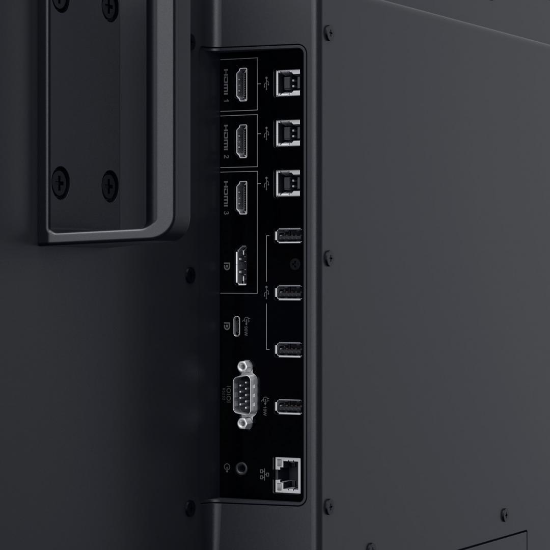"Monitor Dell 55"", C5522QT, 138.787 cm, Touch, IPS, 4K, UHD, 3840 x 2160 at 60Hz, 16:9 - imaginea 5"