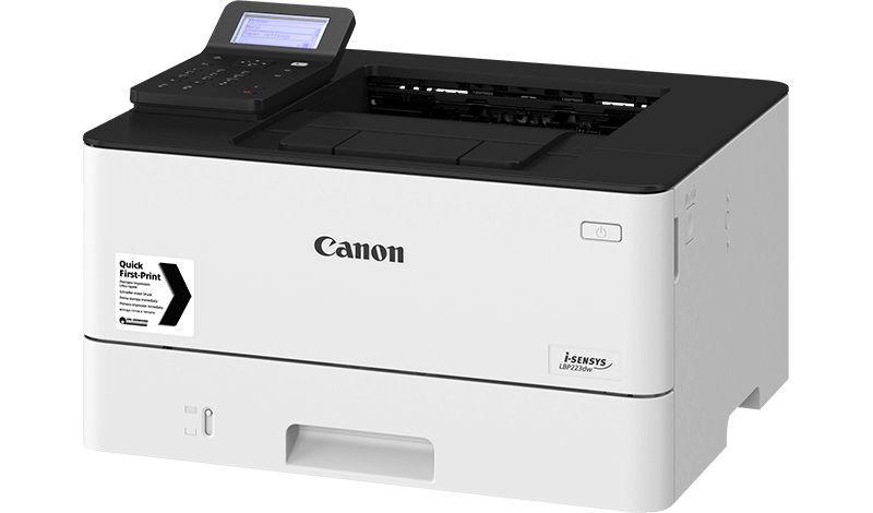 Imprimanta laser mono Canon LBP228X, dimensiune A4, duplex, viteza max38ppm, rezolutie 600 X 600dpi, imprimare securizata, processor dual core800Mhz, memorie 1GB RAM, alimentare hartie 250 coli, limbaje deprintare: UFRII, PCL 5e4, PCL6, Adobe® PostScript, Touchscreen 12.7 cm ,volum de printare max - imaginea 1