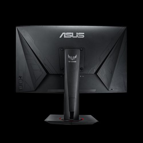 "Monitor 27"" ASUS VG27WQ, QHD 2560*1440, Gaming, VA, curbat 1500R, 16:9, 400 cd/mp, 3000:1, 178/178, 1 ms MPRT, 165 Hz, flicker free, Low Blue Light, FreeSync technology supported, Shadow Boost, DisplayHDR 400, boxe 2*2W, HDMI, DP, Kensington lock, VESA 100x100, culoare negru - imaginea 2"