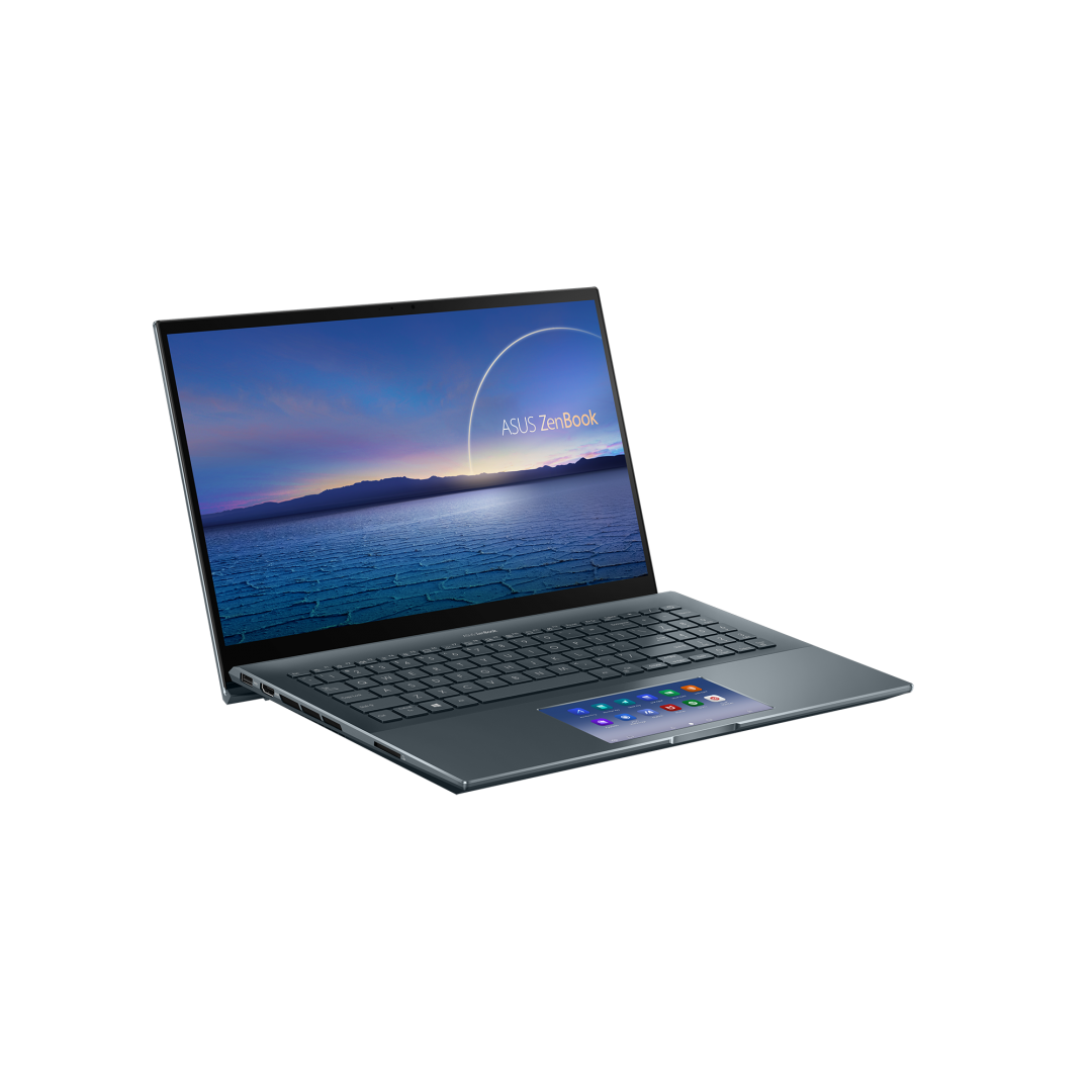 UltraBook ASUS ZenBook UX535LI-H2171R, 15.6-inch, Touch screen, 4K UHD (3840 x 2160) 16:9, OLED, Glossy display, Intel® Core™ i7-10870H Processor 2.2 GHz (16M Cache, up to 5.0 GHz, 8 cores), NVIDIA® GeForce® GTX 1650 Ti, 16GB DDR4 on board, 512GB M.2 NVMe™ PCIe® 3.0 SSD, 802.11ax+Bluetooth 5.0 (Dual - imaginea 3