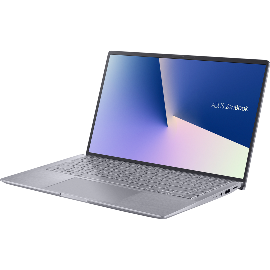 UltraBook ASUS ZenBook UM433IQ-A5024T, 14.0-inch, FHD (1920 x 1080) 16:9, Anti-glare display, IPS-level Panel, AMD Ryzen(T) 5 4500U Processor 2.3 GHz (8M Cache, up to 4.0 GHz, 6 cores), NVIDIA(R) GeForce(R) MX350, 8GB LPDDR4X on board, 512GB M.2 NVMe(T) PCIe(R) 3.0 SSD, 802.11ax+Bluetooth 5.0 (Dual - imaginea 3