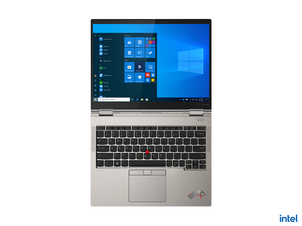 "Laptop Lenovo ThinkPad X1 Titanium Yoga Gen 1, 13.5"" QHD (2256x1504) IPS 450nits AR (anti-reflection) / AS (anti-smudge), Touch, Intel Core i7- 1160G7 (4C / 8T, 2.1 / 4.4GHz, 12MB), Video Integrated Intel Iris Xe Graphics, RAM 16GB Soldered LPDDR4x-4266, POP Memory, SSD 1TB SSD M.2 2242 PCIe 3.0x4 - imaginea 17"
