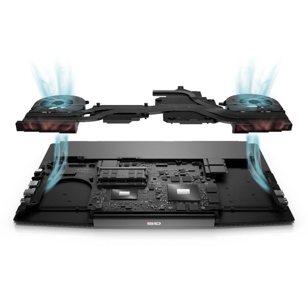"""Laptop Dell Inspiron Gaming AMD G5 5505, 15.6"""" FHD, AMD Ryzen 7 4800H, 16GB, 512GB SSD, AMD Radeon RX 5600M, W10 Home - imaginea 9"""