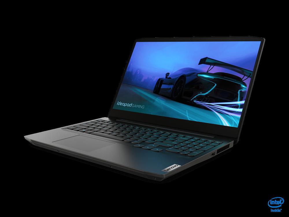 "Laptop Lenovo IdeaPad Gaming 3 15IMH05, 15.6"" FHD (1920x1080) IPS 250nits Anti-glare, 60Hz, Intel Core i5-10300H (4C / 8T, 2.5 / 4.5GHz, 8MB), video NVIDIA GeForce GTX 1650 Ti 4GB GDDR6, RAM 2x 8GB SO-DIMM DDR4-2933, SSD 512GB SSD M.2 2280 PCIe 3.0x4 NVMe, no ODD, No Card reader, Stereo speakers - imaginea 3"