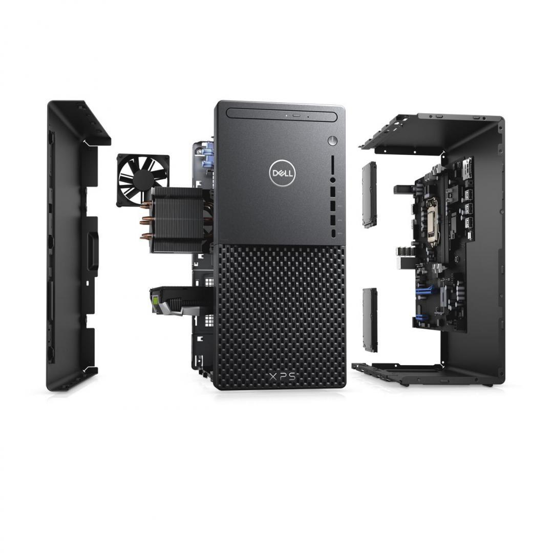 Desktop Dell XPS 8940, i7-11700, 16GB, 512GB SSD, 1TB HDD, GeForce GTX 1660Ti, W10 Pro - imaginea 5