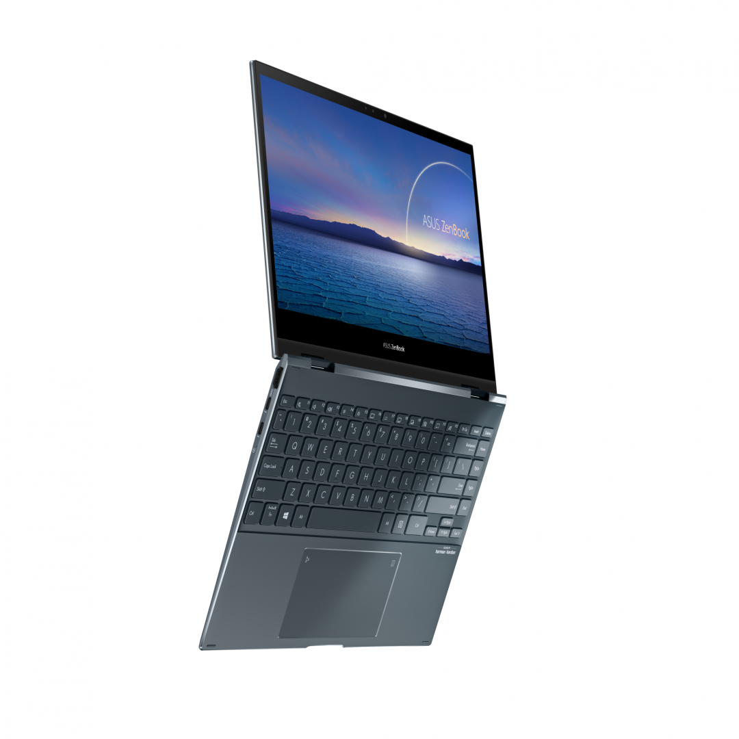 UltraBook ASUS ZenBook FLIP, 13.3-inch, Touch screen, i7-1165G7  16 1 UMA W10P - imaginea 1