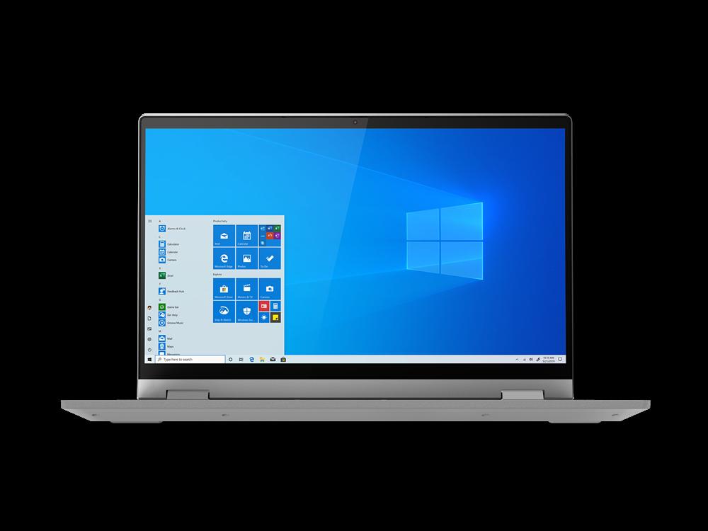 "Laptop Lenovo IdeaPad Flex 514ALC05, 14"" FHD (1920x1080) IPS 250nits Glossy, 45% NTSC, AMD Ryzen 3 5300U (4C / 8T, 2.6 / 3.8GHz, 2MB L2 / 4MB L3), video AMD Radeon Graphics, RAM 8GB Soldered DDR4-3200, SSD 256GB SSD M.2 2242 PCIe 3.0x4 NVMe, no ODD, 4-in-1 Card Reader, Stereo speakers, 2W x2, Dolby - imaginea 2"