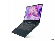 "Laptop Lenovo IdeaPad Flex 514ALC05, 14"" FHD (1920x1080) IPS 250nits Glossy, 45% NTSC, AMD Ryzen 3 5300U (4C / 8T, 2.6 / 3.8GHz, 2MB L2 / 4MB L3), video AMD Radeon Graphics, RAM 8GB Soldered DDR4-3200, SSD 256GB SSD M.2 2242 PCIe 3.0x4 NVMe, no ODD, 4-in-1 Card Reader, Stereo speakers, 2W x2, Dolby - imaginea 8"