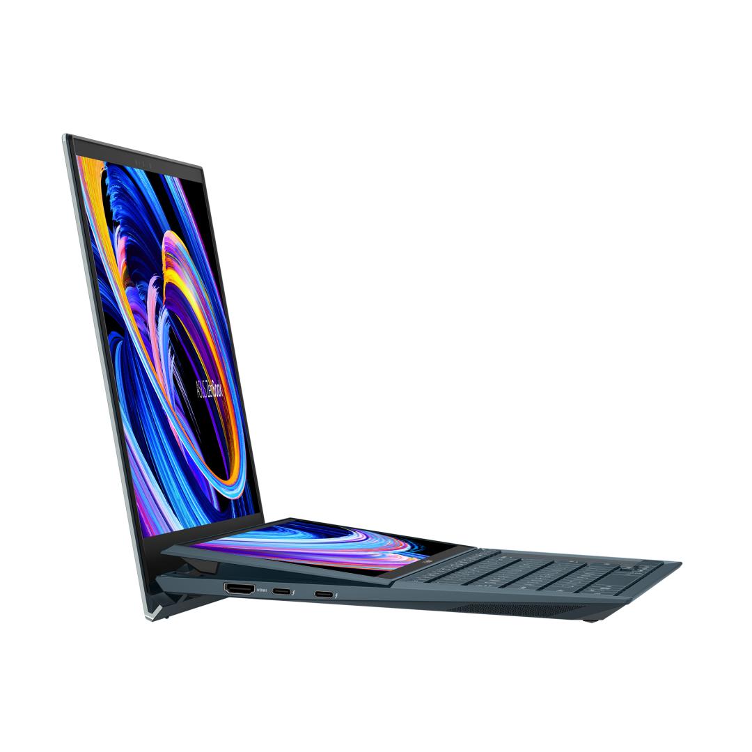UltraBook ASUS ZenBook DUO, 14-inch, Touch screen, i5-1135G7  8 512 MX450 W10P - imaginea 1
