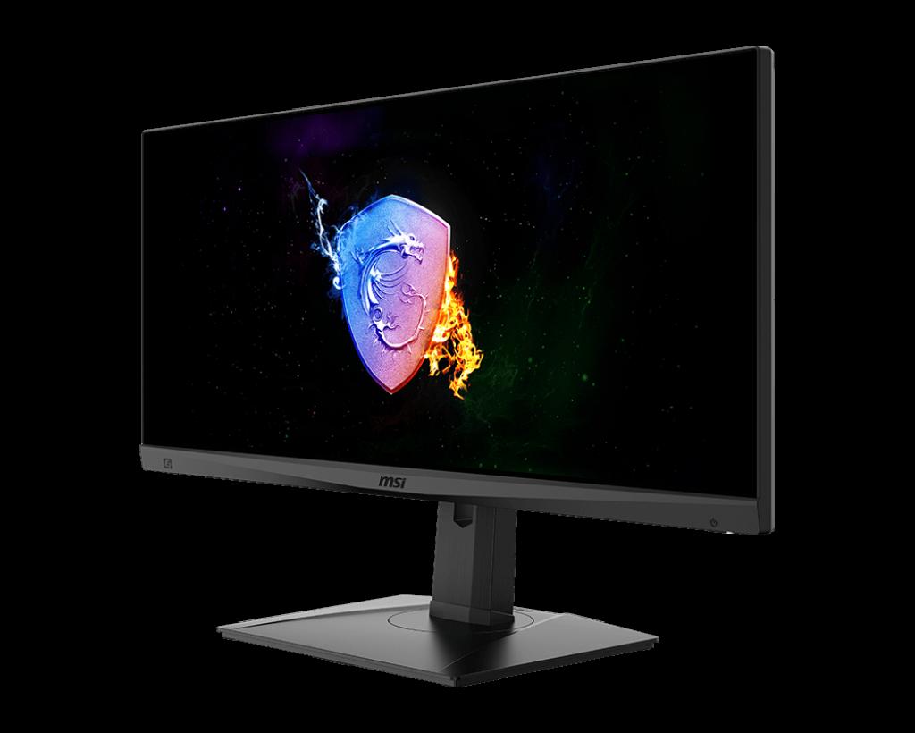 "Monitor Gaming 29.5"" MSI Optix MAG301RF, Flat, LED, Panel Type Rapid IPS, WFHD 2560 x 1080, 200Hz, 21:9, Anti-glare, Display colors 1.07B (8bits + FRC), G-sync Compatible, Frameless design, 1ms GTG, 300 cd/m², 1000:1 static / 100000000:1 dinamic, 178° (H) / 178° (V), Porturi: 1x Display Port (1.2a) - imaginea 2"