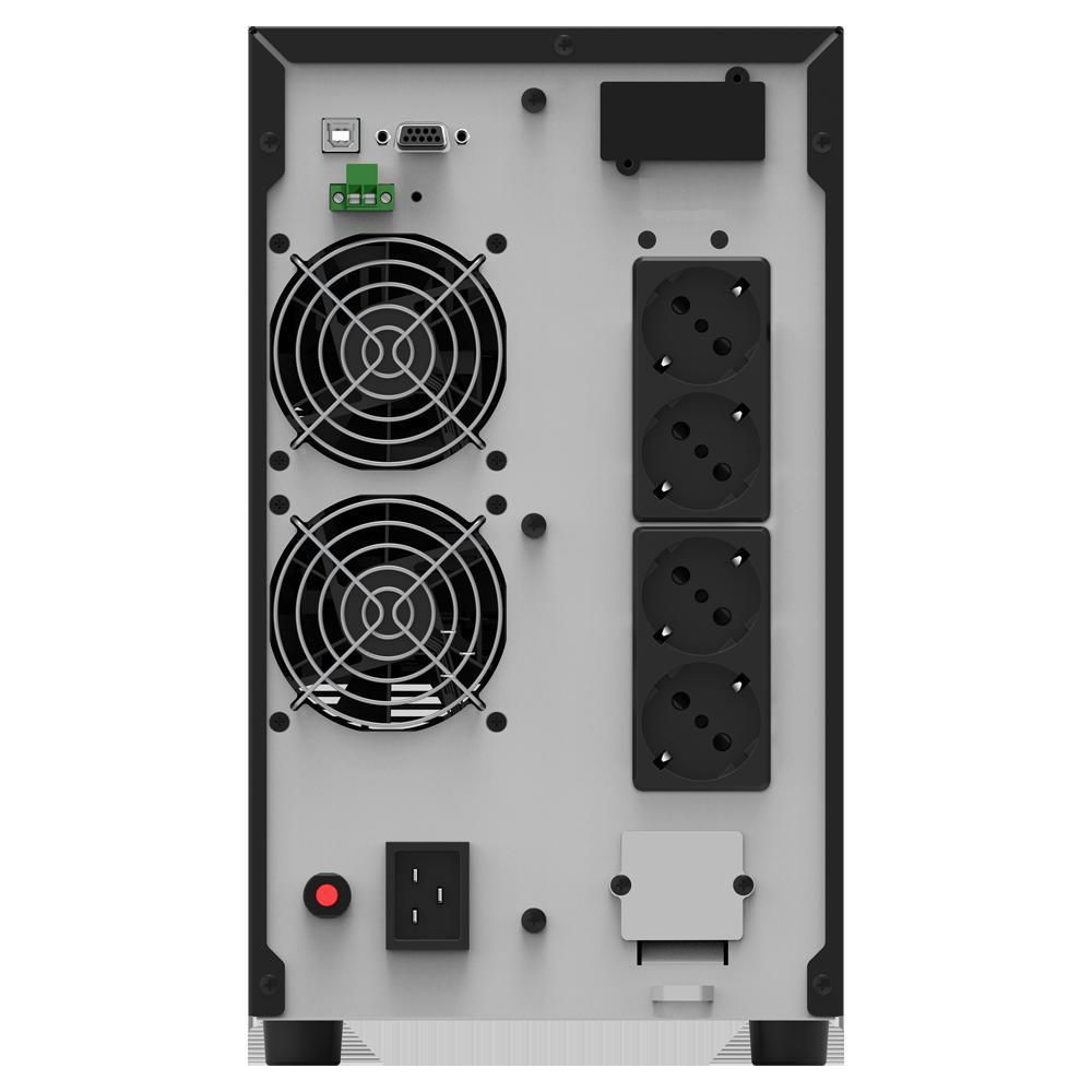 UPS nJoy Echo Pro 3000, 3000VA/2400W, On-line, LED - imaginea 2