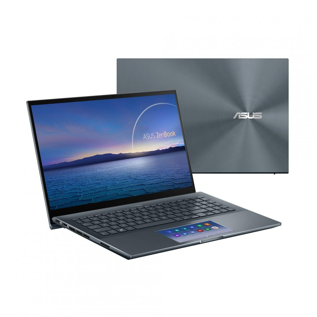 UltraBook ASUS ZenBook UX535LI-H2171R, 15.6-inch, Touch screen, 4K UHD (3840 x 2160) 16:9, OLED, Glossy display, Intel® Core™ i7-10870H Processor 2.2 GHz (16M Cache, up to 5.0 GHz, 8 cores), NVIDIA® GeForce® GTX 1650 Ti, 16GB DDR4 on board, 512GB M.2 NVMe™ PCIe® 3.0 SSD, 802.11ax+Bluetooth 5.0 (Dual - imaginea 8