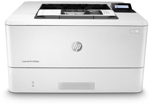 Imprimanta laser mono HP M304a, Dimensiune: A4 ,Viteza:35 ppm , Rezolutie:600x600 dpi, Procesor:1.2 GHz , Memorie 256 MB , Limbaje de printare: HP PCL 6, HP PCL 5c, HP postscript level 3 emulation, PDF, URF, PWG Raster , Alimentare cu hartie standard/ maxim: 350 coli/ 900 coli  , Interfata:USB - imaginea 1