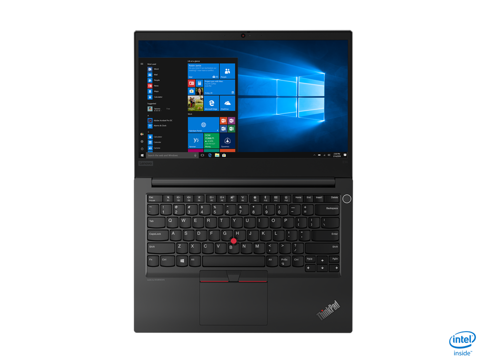 "Laptop Lenovo ThinkPad E14 Gen 2 (Intel), 14"" FHD (1920x1080)  i3-1115G4 8GB 256GB UMA 1YD DOS - imaginea 7"
