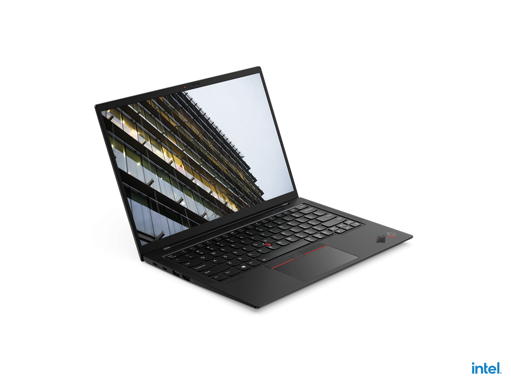 "Laptop Lenovo ThinkPad X1 Carbon Gen 9, 14"" FHD+ (1920x1200) IPS 400nits Anti-glare, Intel Core i7-1165G7 (4C / 8T, 2.8 / 4.7GHz, 12MB), Video Integrated Intel Iris Xe Graphics, RAM 16GB Soldered LPDDR4x-4266, SSD 512GB SSD M.2 2280 PCIe 4.0x4 Performance NVMe Opal2, Optical: no ODD, No card reader - imaginea 2"