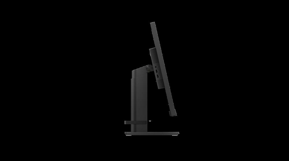 "Monitor Lenovo ThinkVision T27q-2027"" IPS, QHD (2560x1440), 16:9, Luminozitate: 350 nits, Contrast ratio: 1000:1, Response time: 4 ms (Extreme mode) / 6 ms (Typical mode) / 14 ms (off mode), Dot / Pixel Per Inch: 109 dpi, Color Gamut: 99% sRGB, View angle: 178 / 178, Stand: Tilt, Swivel, Pivot - imaginea 4"