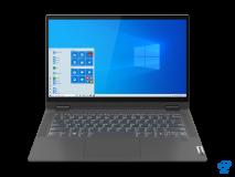 "Laptop Lenovo IdeaPad Flex 514ITL05, 14"" FHD (1920x1080) IPS 250nits Glossy, 45% NTSC, Intel Core i7-1165G7 (4C / 8T, 2.8 / 4.7GHz, 12MB), video Integrated Intel Iris Xe Graphics, RAM 16GB Soldered DDR4-3200, SSD 512GB SSD M.2 2280 PCIe 3.0x4 NVMe, no ODD, 4-in-1 Card Reader, Stereo speakers, 2W x2 - imaginea 4"