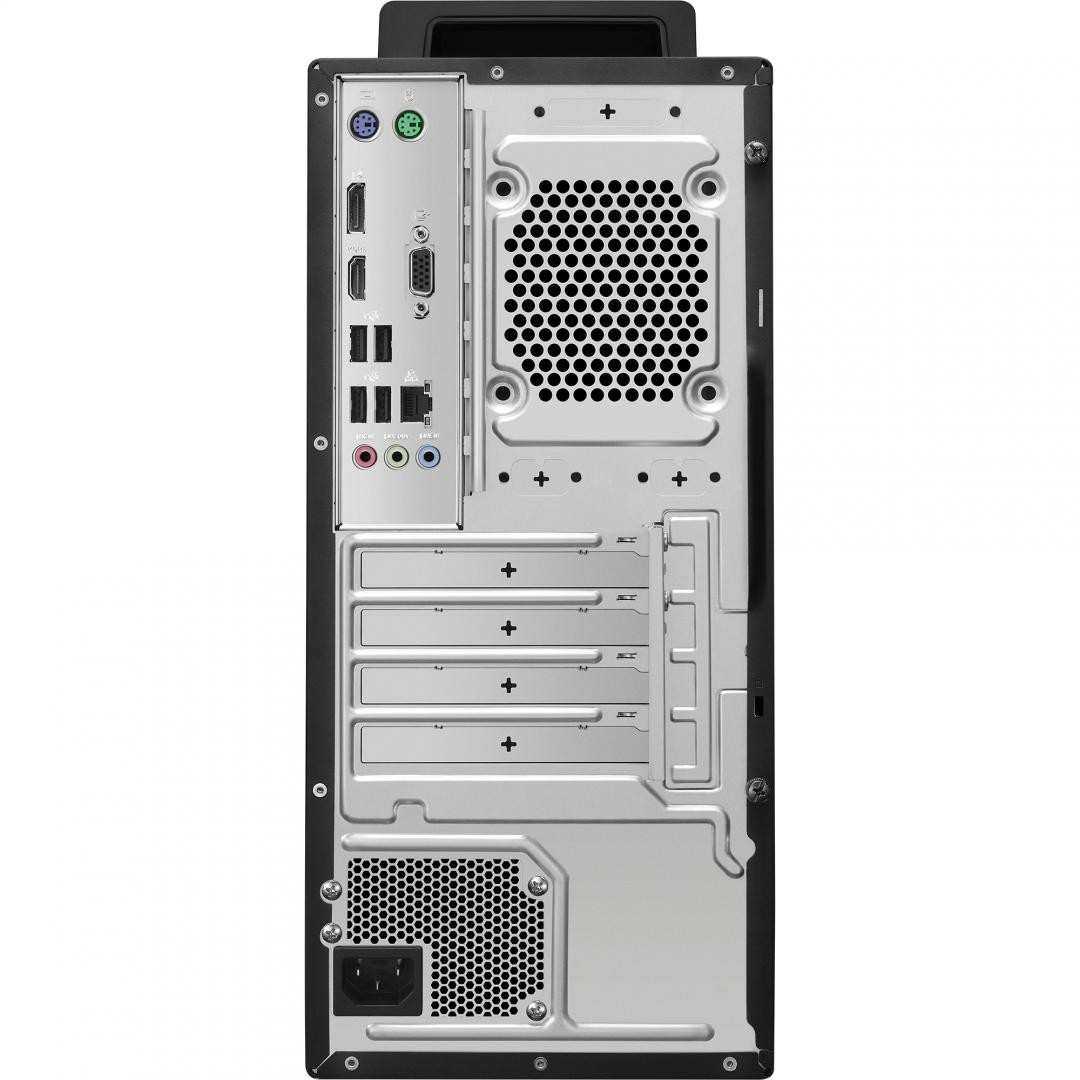 Desktop Business ASUS EXPERT CENTER D700MA-710700001R, Intel® Core™ i7- 10700 Processor 2.9 GHz (16M Cache, up to 4.7 GHz, 8 cores), 16GB, 1TB M.2 NVMe™ PCIe® 3.0 Performance SSD, DVD writer 8X, High Definition 7.1 Channel Audio, Rear I/O Ports:  1x RJ45 LAN for LAN insert (10 / 100 / 1000), 1x HDMI - imaginea 1