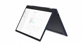 """Laptop Lenovo Yoga 6 13ARE05, 13.3"""" FHD (1920x1080) IPS 300nits Glossy, 72% NTSC, 10-point Multi-touch, AMD Ryzen 5 4500U (6C / 6T, 2.3 / 4.0GHz, 3MB L2 / 8MB L3), video Integrated AMD Radeon Graphics, RAM 16GB Soldered DDR4-3200, SSD 1TB SSD M.2 2280 PCIe 3.0x4 NVMe, no ODD, No Card reader, Stereo - imaginea 3"""