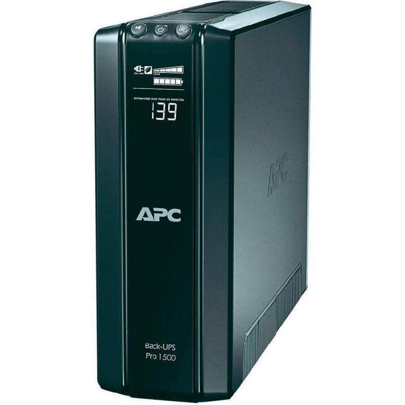 UPS APC Back-UPS RS line-interactive / aprox.sinusoida 1500VA / 865W 10conectori C13, baterie APCRBC124, optional extindere garantie cu 1/3 ani(WBEXT WAR1YR-SP-01/WBEXTWAR3YR-SP-01) - imaginea 1