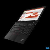 "Laptop Lenovo ThinkPad T14 Gen 2 (Intel), 14"" FHD (1920x1080) Low Power IPS 400nits Anti-glare, Intel Core i7-1165G7 (4C / 8T, 2.8 / 4.7GHz, 12MB), Video NVIDIA GeForce MX450 2GB GDDR6, RAM 16GB Soldered DDR4- 3200, SSD 1TB SSD M.2 2280 PCIe x4 NVMe Opal2, Optical: no ODD, MicroSD Reader, Speakers - imaginea 13"