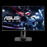 "Monitor 27"" ASUS VG279Q, FHD 1920*1080, Gaming, IPS, 16:9, 144 hz, 3 ms ,400 cd/m2, 1000:1, 178/178, Flicker free, Low blue light, FreeSync, boxe2*2W, HDMI, DP, DVI, pivot, VESA 100*100, Kensington lock, negru - imaginea 1"