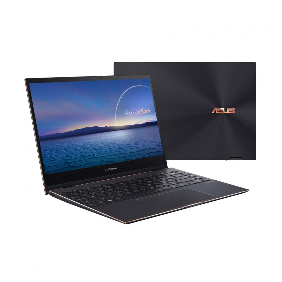 UltraBook ASUS ZenBook, 13.3-inch, Touch screen, i7-1165G7  16 512 UHD W10P - imaginea 1