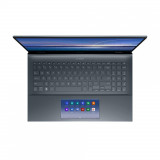 UltraBook ASUS ZenBook UX535LI-H2171R, 15.6-inch, Touch screen, 4K UHD (3840 x 2160) 16:9, OLED, Glossy display, Intel® Core™ i7-10870H Processor 2.2 GHz (16M Cache, up to 5.0 GHz, 8 cores), NVIDIA® GeForce® GTX 1650 Ti, 16GB DDR4 on board, 512GB M.2 NVMe™ PCIe® 3.0 SSD, 802.11ax+Bluetooth 5.0 (Dual - imaginea 7