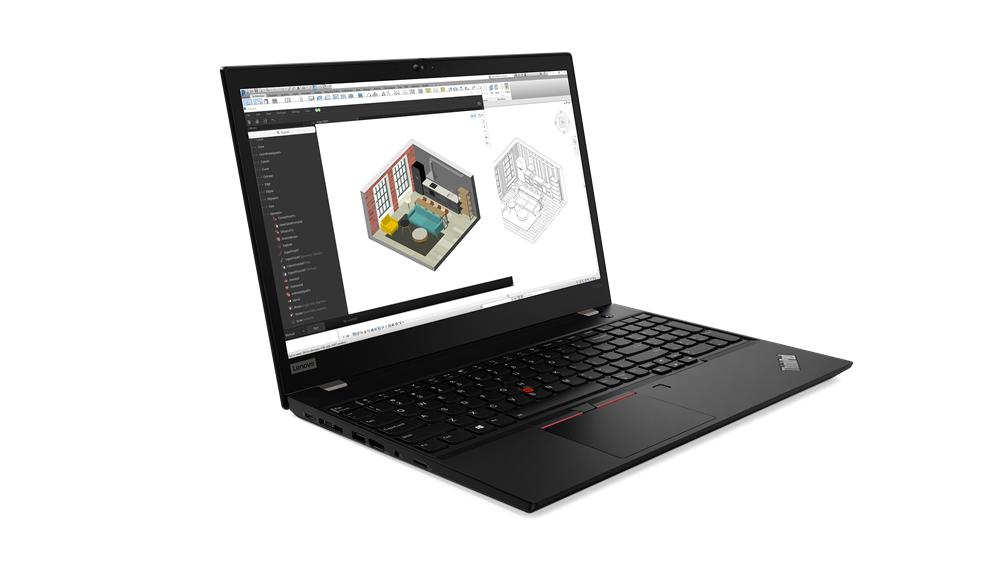 """Laptop Lenovo ThinkPad P15s Gen 2, 15.6"""" FHD (1920x1080) IPS 300nits Anti-glare, 45% NTSC, Intel Core i7-1185G7 (4C / 8T, 3.0 / 4.8GHz, 12MB), NVIDIA Quadro T500 4GB GDDR6, 16GB Soldered DDR4-3200 non-ECC, One memory soldered to system board, one DDR4 SO-DIMM slot, dual-channel capable, Up to 48GB - imaginea 2"""